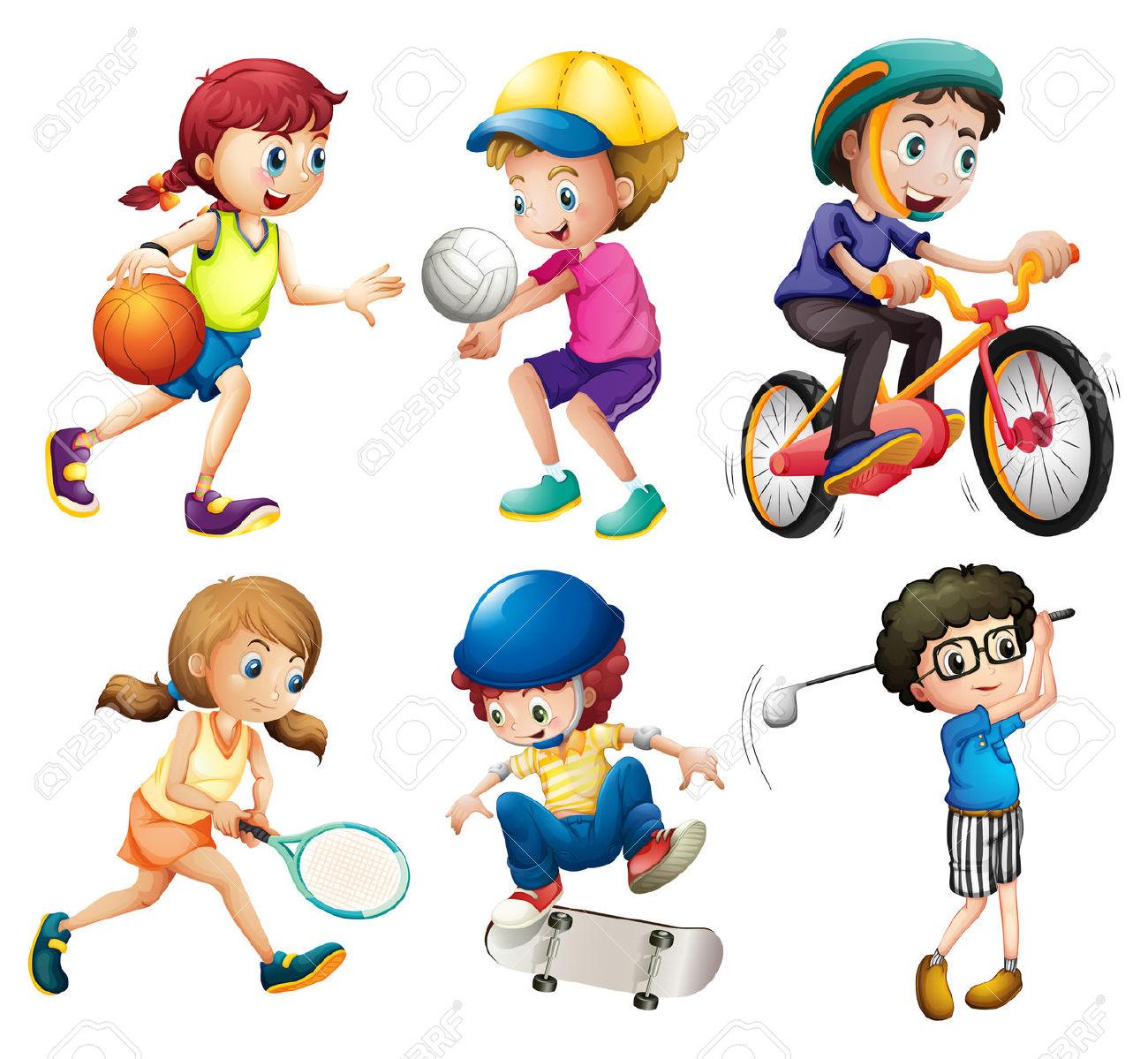 Картинка для детей виды спорта