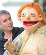 Foto-Figurentheater-Die-Roten-Finger-Puppenspieler-Bernd-Linde