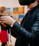Virtual Reality Experience, Teil der Ausstellung  (Foto von Marius Neag / Deutsches Kulturzentrum Klausenburg)