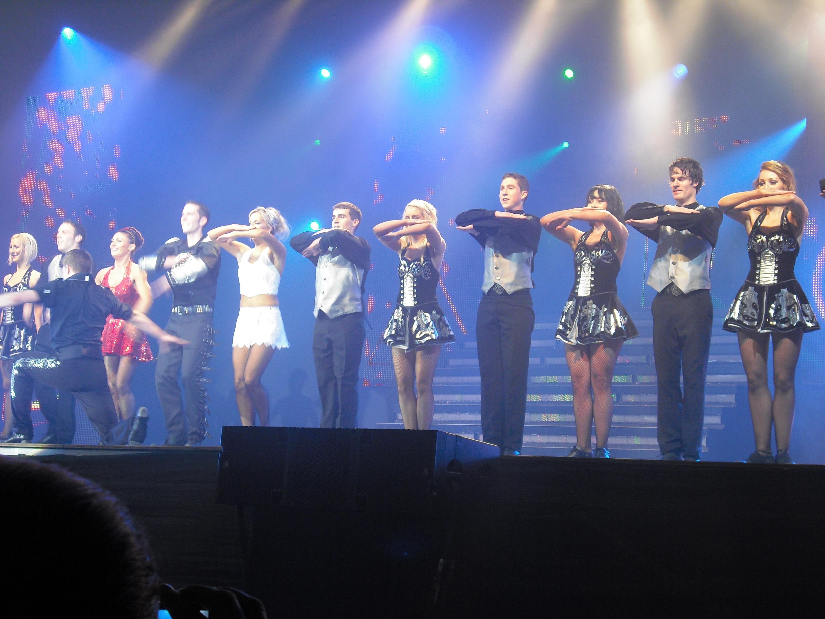 Lord of The Dance şi-a încheiat turneul din ţara noastră la Târgu-Mureş