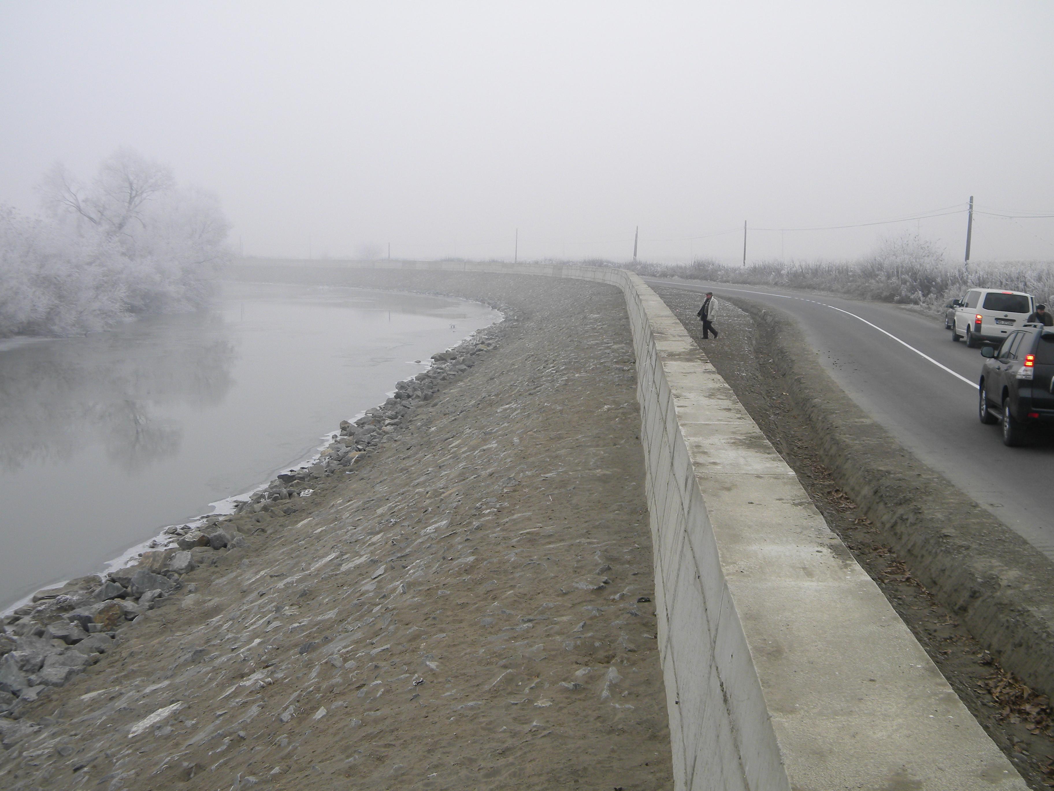 Investiţii de aproape 10 milioane de lei pe râul Mureş.