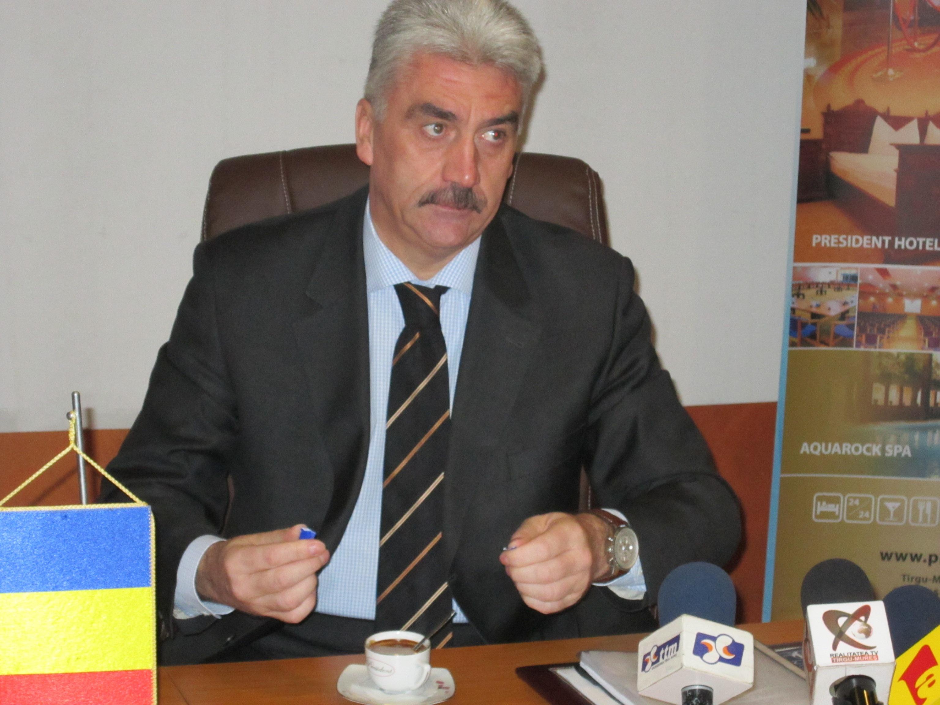 Sorin Ţerbea explică circumstanţele în care s-a produs arestarea sa, în prima conferinţă de presă de după eliberarea din arest.