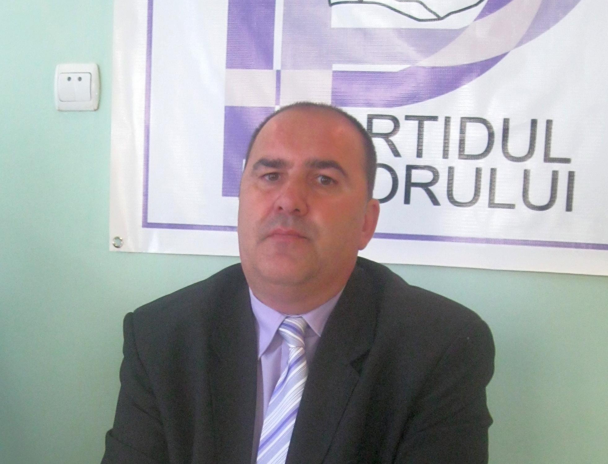 Preşedintele Partidului Poporului Mureş îşi va da demisia dacă i se impun candidaţi de la centru.