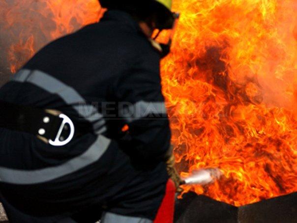 Incendiu puternic la Tulgheş !