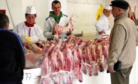 În Braşov s-au descoperit nereguli la produsele de Paşte.