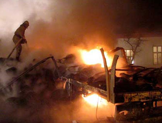 Incendiu cu victime la Odorheiu Secuiesc!