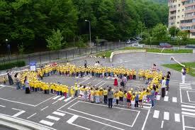 Tinerii din Braşov au sărbătorit Ziua Europei.