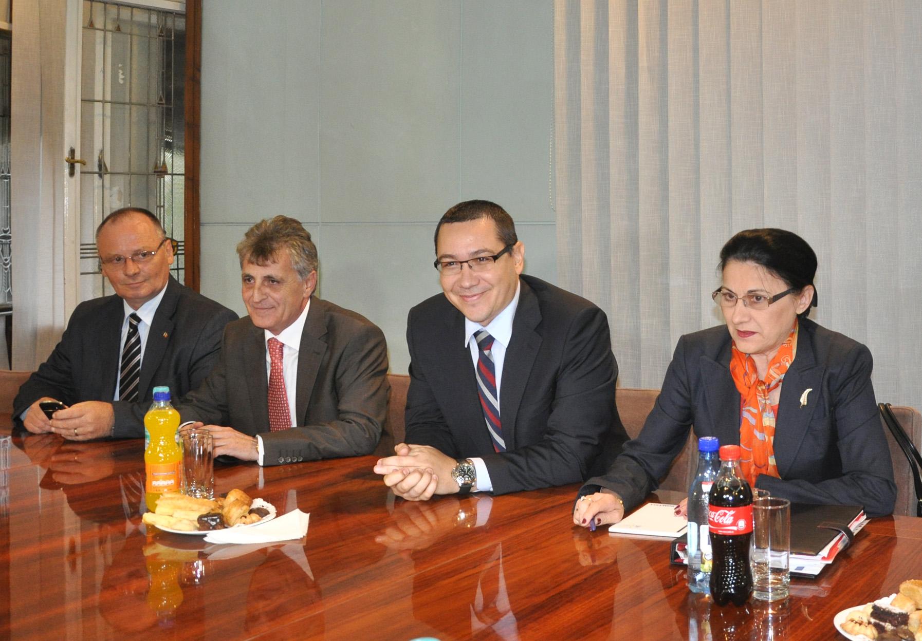 Premierul Victor Ponta nu susţine facultăţi separate la UMF