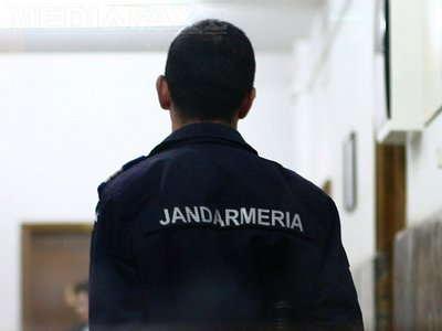 Jandarm agresat în Harghita