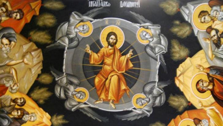 Astăzi este sărbătoarea Înălţării Domnului sau Ispasul