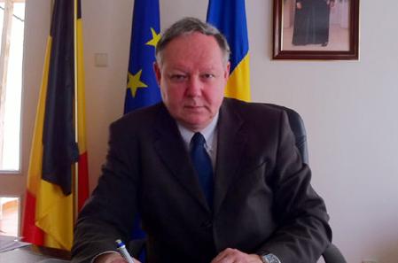 Covasna: Vizita ambasadorului Belgiei în România