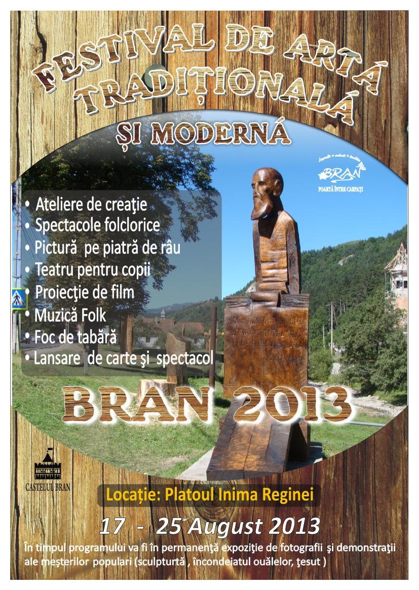 Festivalul de Artă Tradiţională şi Modernă continuă la Bran