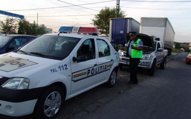 Poliţiştii harghiteni au aplicat aproximativ 400 de amenzi