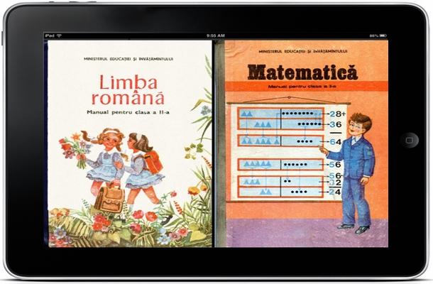 Manualele digitale vor fi introduse în luna ianuarie