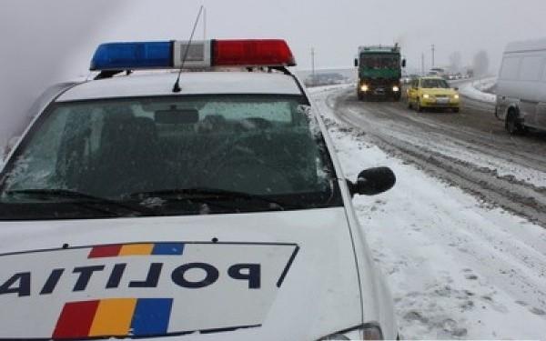 Trafic rutier întrerupt în Covasna!
