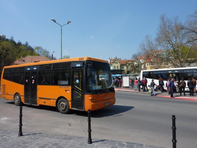 Un şofer de autobuz din Braşov s-a luat la bătaie cu un călător
