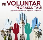 Târgumureşenii sunt  provocaţi să se implice în acţiuni de voluntariat