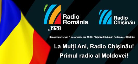 Chişinău, canalul Radio România din Republica Moldova, sărbătoreşte, astăzi, doi ani de când a fost lansat