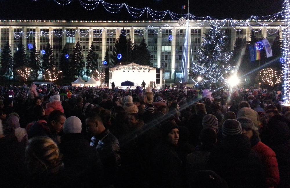 Radio Chişinău aniversat de 25.000 de entuziaşti