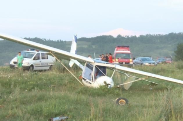 Accident aviatic în zona Aeroclubului Târgu Mureş!
