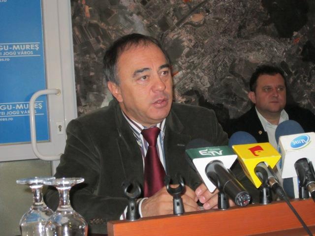 Dorin Florea are o strategie pentru a dezvolta infrastructura zonei limitrofe Tîrgu-Mureşului pe bani europeni