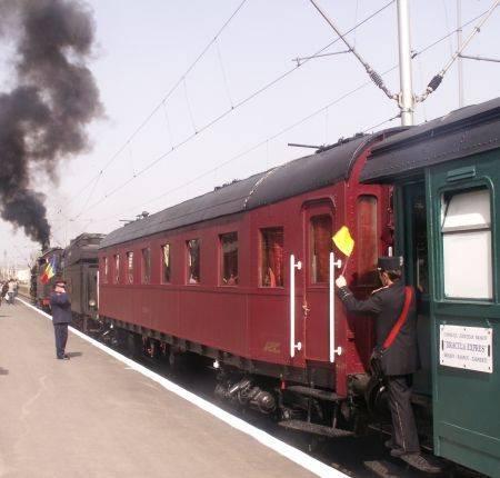 Panică pe calea ferată în Mureş