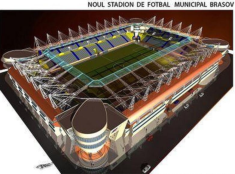 Brașovul va avea un stadion la nivel european