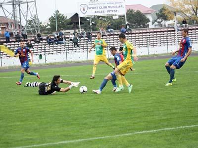 ASA Tîrgu Mureş, la al treilea eşec consecutiv