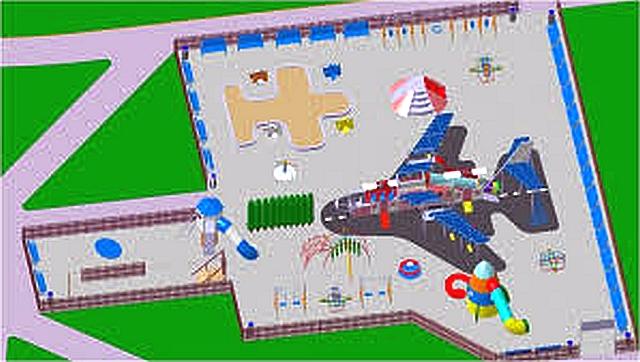"""Viitorul """"aeroport"""" de joacă pentru copiii brașoveni își mută locația"""