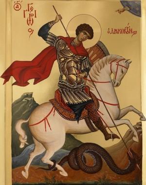 Creştinii îl serbează astăzi pe Sfântul mare martir Gheorghe, purtătorul de biruinţe