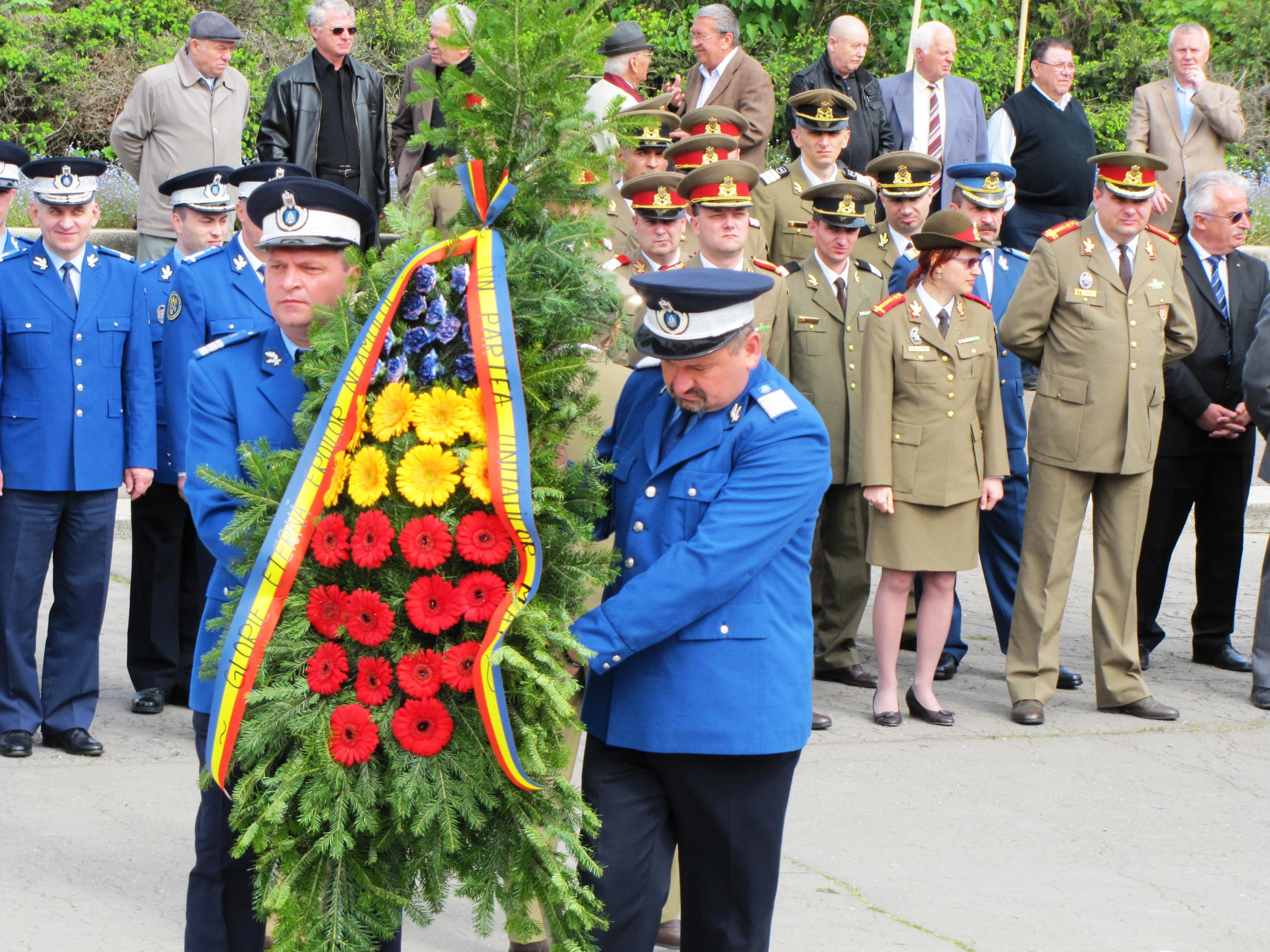 Ziua Veteranilor de Război a fost marcată şi la Tîrgu-Mureş