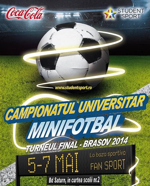 Campionat Universitar de Minifotbal la Braşov