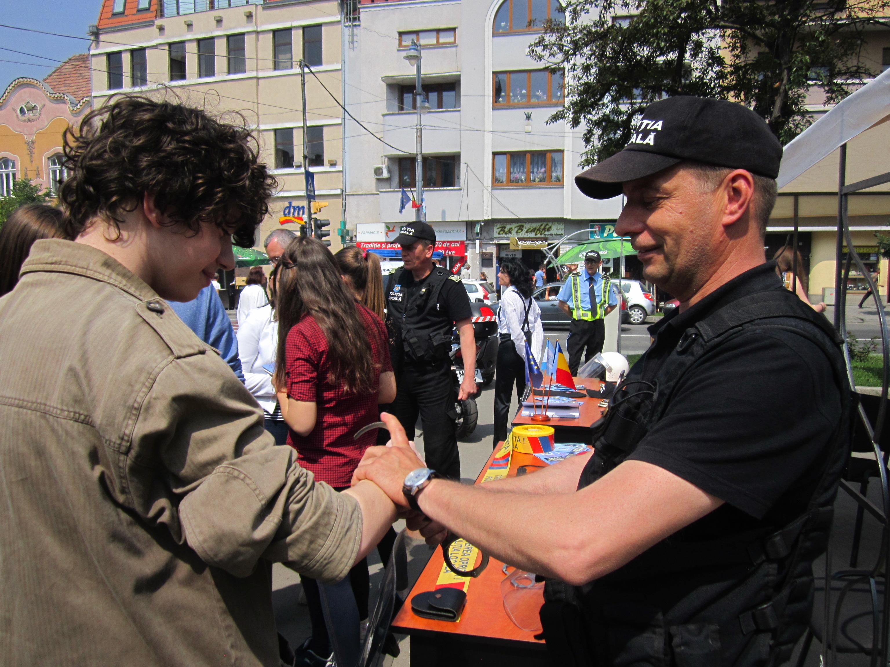 Ziua Poliţiei Locale a fost sărbătorită, astăzi, la Tîrgu-Mureş