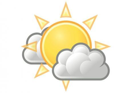 Vremea se va încălzi mâine în Transilvania şi va fi uşor instabilă cu cerul temporar noros