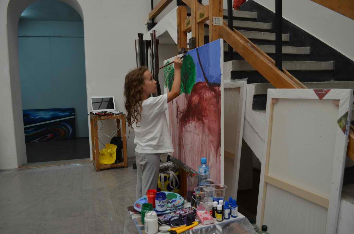 Sighişoara – gazdă a Taberei Internaţionale de Artă Plastică