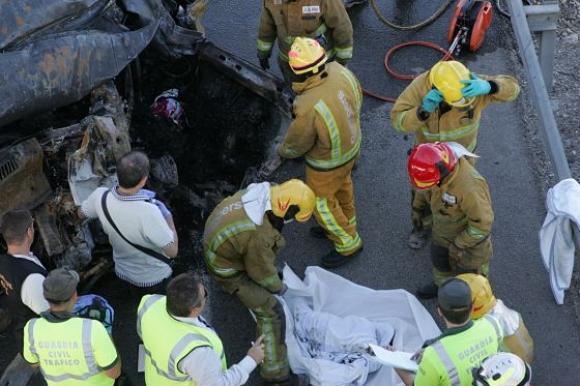Ministerul de Externe a confirmat că opt români au murit în accidentul rutier care s-a petrecut în Spania ieri după-amiază