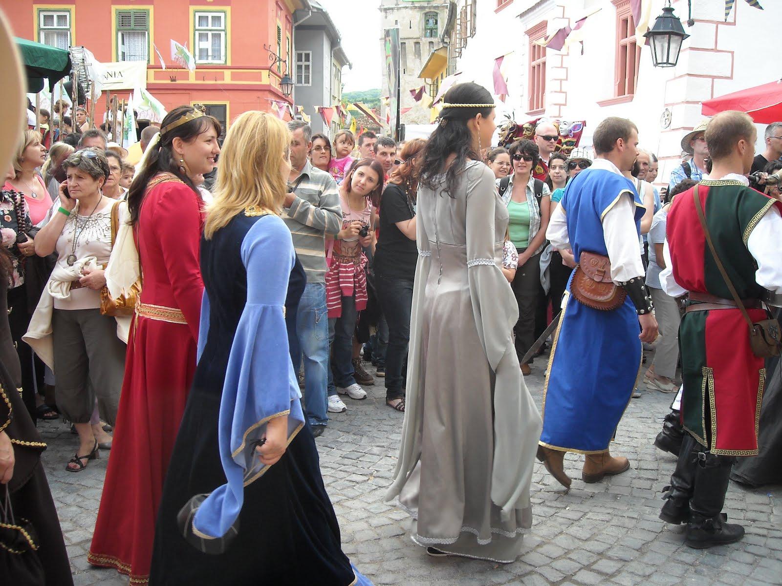 Începe Festivalul Medieval de la Sighişoara!