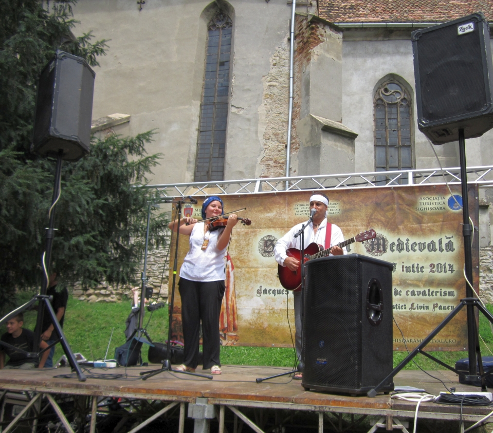 Prima zi a Festivalului Sighișoara Medievală, un succes artistic şi de organizare