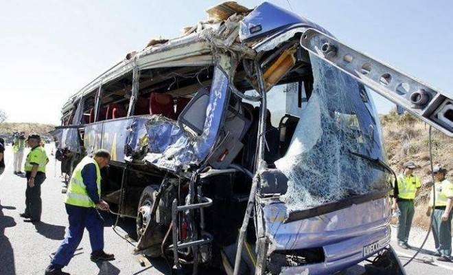 13 din cele 16 persoane rănite în accidentul de ieri din Bulgaria au fost externate de la Spitalul Universitar din Capitală