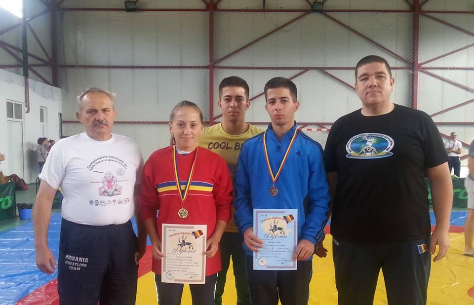 Luptătorii târgumureşeni au cucerit 4 medalii la Campionatul Naţional de la Corund