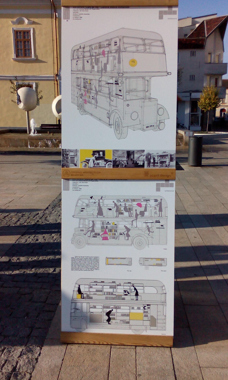 Bienala regională de arhitectură se ţine în Piaţa Teatrului din Târgu-Mureş