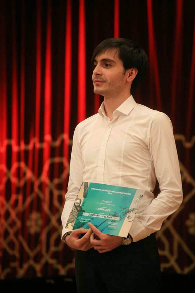 """Câştigătorul secţiunii compoziţie a Concursului Internaţional """"George Enescu""""este un muzician care a studiat la Braşov"""