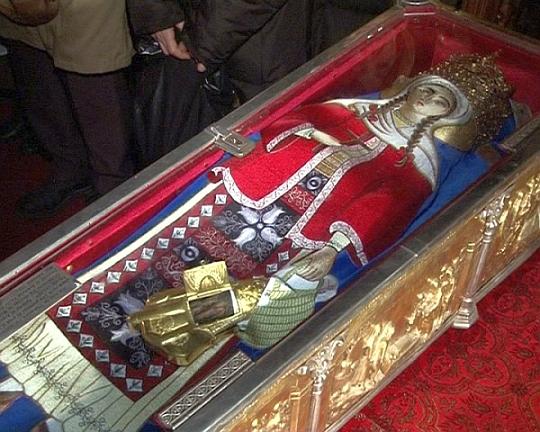 Moaştele Sfintei Muceniţe Filofteia ajung la Braşov