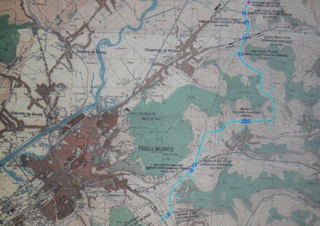 Construirea centurii Tîrgu-Mureşului începe săptamana viitoare
