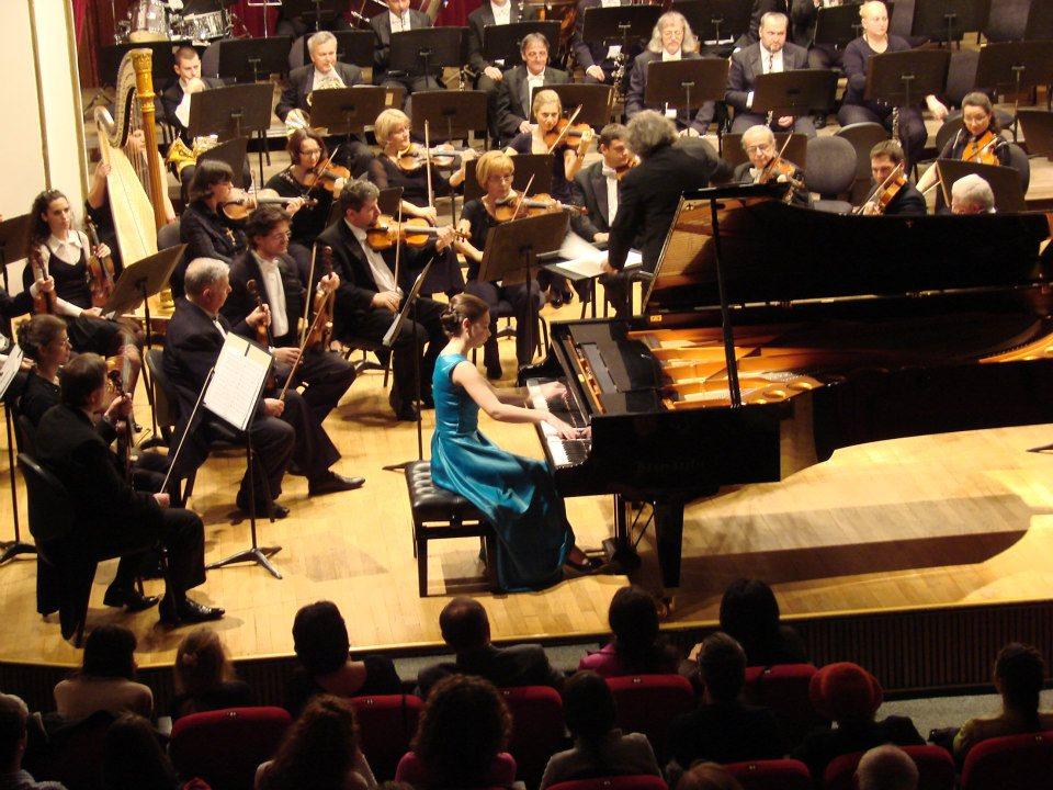 Pianista Daria Tudor  va susţine un recital la Târgu-Mureş
