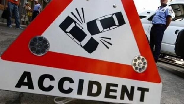 Accident  grav, azi-noapte,  pe raza comunei  braşovene Hălchiu