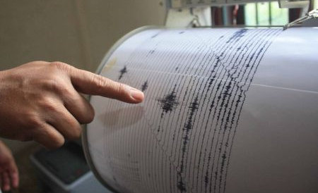 Un cutremur cu magnitudinea 3,5 pe scara Richter a avut loc, aseară, la orele 22:22 în zona Vrancea
