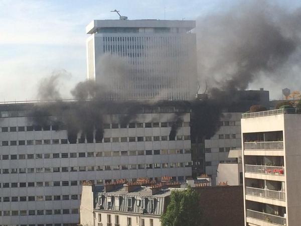 UPDATE! Casa Radio din Paris este în flăcări!