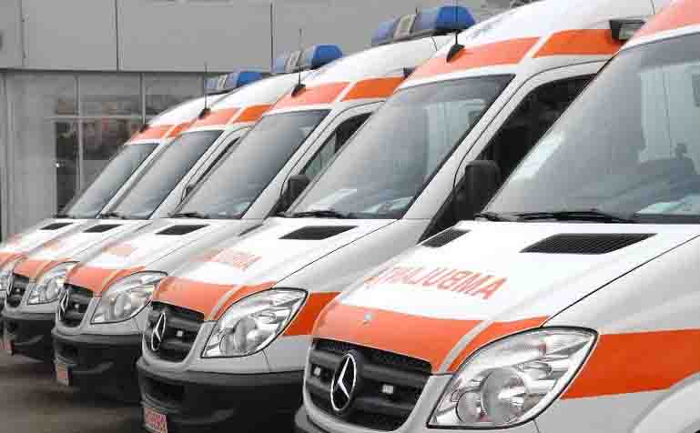 48 de ambulanţe noi au fost predate astăzi serviciilor judeţene de profil