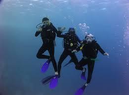 Curs de scufundări la Sf.Gheorghe